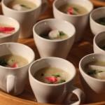 Suppe als Appetizer bei Veranstaltungen